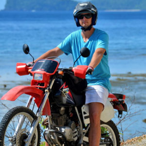 large motobike rental
